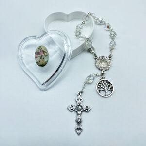 Autorosenkranz – Kristall – transparent