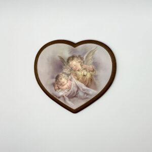 Bild – Herz mit Schutzengel