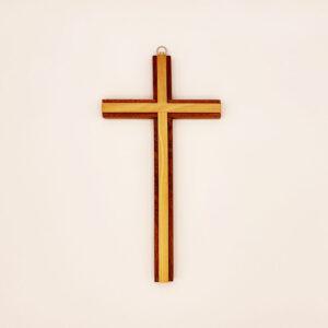 Kreuz – modern – ohne Korpus – Mahagoni/Olive