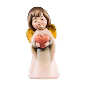 Mariazeller Traumengel mit Herz – lasiert