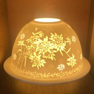 Mariazeller Porzellanlicht – EDELWEISS