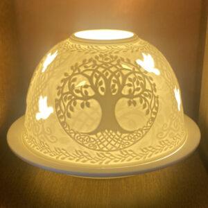 Mariazeller Porzellanlicht – LEBENSBAUM