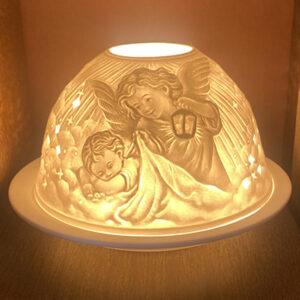 Mariazeller Porzellanlicht – SCHUTZENGEL