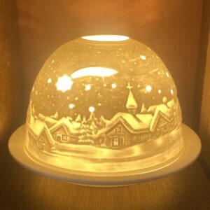 Mariazeller Porzellanlicht – WINTERDORF I