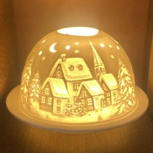 Mariazeller Porzellanlicht – WINTERDORF II