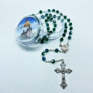 Rosenkranz – Kristall – grün