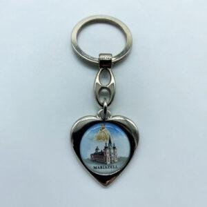 Schlüsselanhänger – Herz – Mariazell