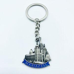 Schlüsselanhänger – Relief – Basilika/Madonna – blau