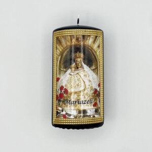 Mariazeller Wetterkerze – Madonna Mariazell – schwarz