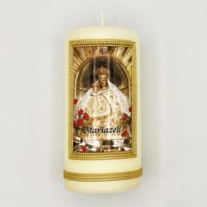 Mariazeller Zierkerze – Madonna Mariazell